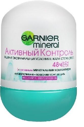 Купить Mineral активный контроль роликовый дезодорант 50мл цена