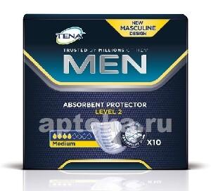 Купить Men level 2 урологические прокладки/вкладыши n10 цена