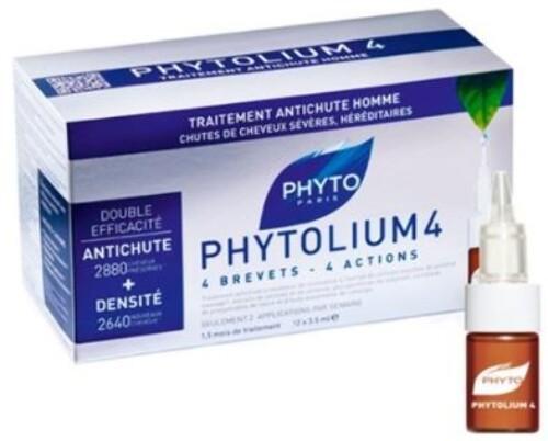 Купить Phytolium 4 сыворотка против выпадения волос 12х3,5мл цена