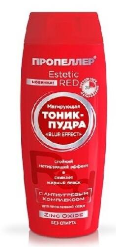 Купить Estetic red матирующая тоник-пудра zinc oxide 100мл цена