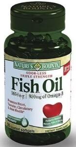 Купить Рыбий жир 1400мг омега-3 980мг цена