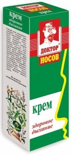 Купить Доктор носов здоровое дыхание крем 30мл цена