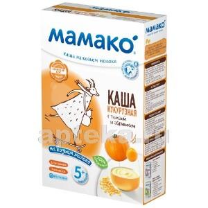 Каша кукурузная с тыквой и абрикосом на козьем молоке 200,0