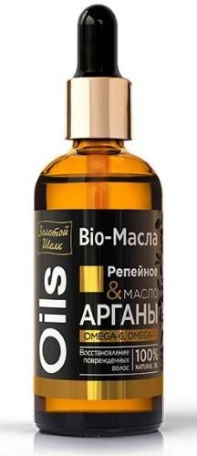 Купить Bio-масло репейное&масло арганы 100мл цена