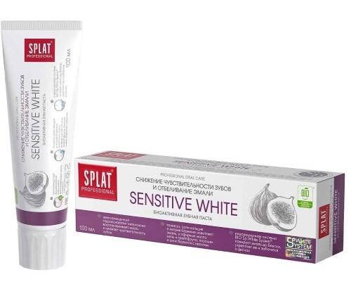 Купить Professional зубная паста сенситив уайт 100мл цена