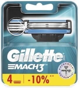 Купить Mach 3 сменные кассеты для бритья n4 цена