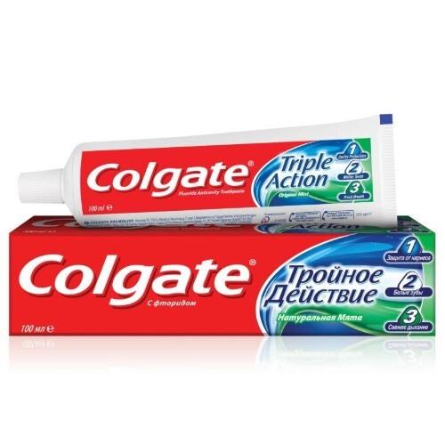 Купить Тройное действие зубная паста 100мл цена