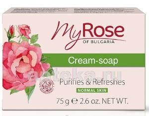 Купить My rose of bulgaria крем-мыло 75,0 цена