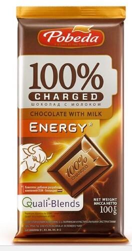 Купить Шоколад с молоком энерджи 100,0 цена