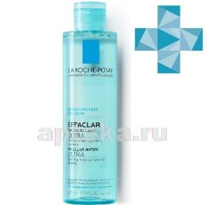 Купить Effaclar мицеллярная вода ultra очищение для жирной проблемной кожи 200мл цена