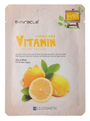 Купить Маска тканевая для лица с витаминами n1 цена