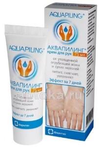 Купить Аквапилинг крем для рук от огрубевшей кожи и сухих мозолей 75 мл цена