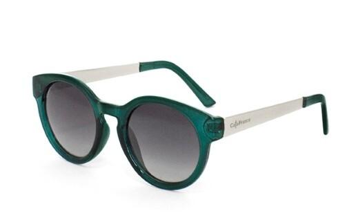 Купить Очки поляризационные женские серая линза зеленая оправа/cf667525 цена