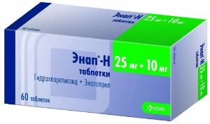 Купить ЭНАП-H N60 ТАБЛ цена