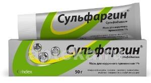 Купить СУЛЬФАРГИН 50,0 МАЗЬ Д/НАРУЖ ПРИМ цена