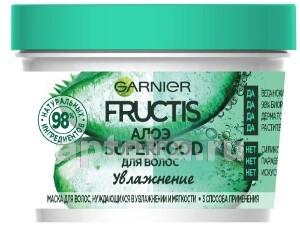 Fructis superfood алоэ увлажнение маска 3в1 для волос нуждающихся в увлажнении 390мл