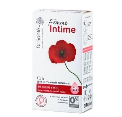 Купить Femme intime гель для интимной гигиены нежный уход 230мл цена