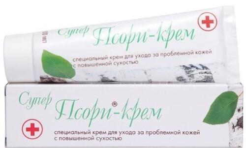 Купить Суперпсори-крем специальный для ухода за проблемной кожей с повышенной сухостью 100мл цена