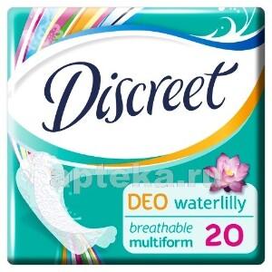 Купить Deo multiform водяная лилия ежедневные гигиенические прокладки n20 цена