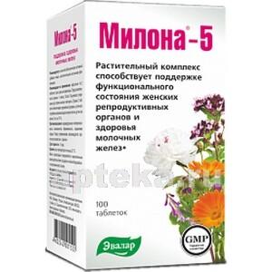 Купить МИЛОНА-5 N100 ТАБЛ 0,5Г цена