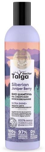 Купить Doctor taiga шампунь био защита цвета для окрашенных волос 400мл цена