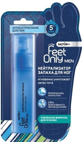Купить Men нейтрализатор запаха для ног для мужчин 60 мл цена