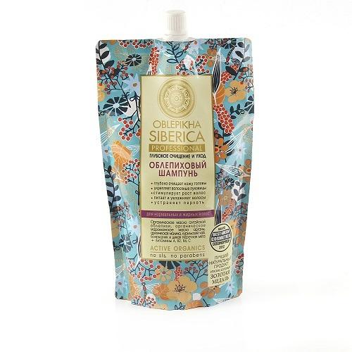 Купить Облепиховый шампунь глубокое очищение и уход 500мл/мягк уп/ цена