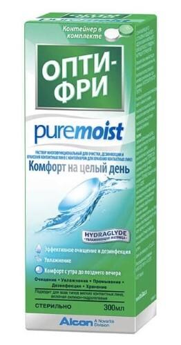 Купить Pure moist раствор для линз+контейнер цена