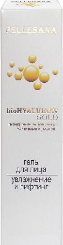 Купить Гиалуроновая кислота+активный коллаген biohyaluron gold гель для лица 30мл цена