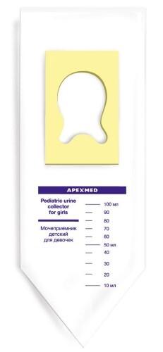 Купить Мочеприемник педиатрический для девочек 100мл n1 цена