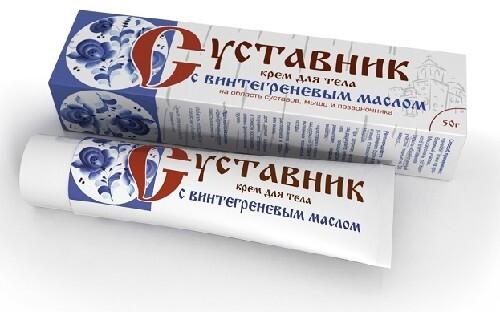 Купить Суставник крем для тела с винтегреневым маслом 50,0 цена