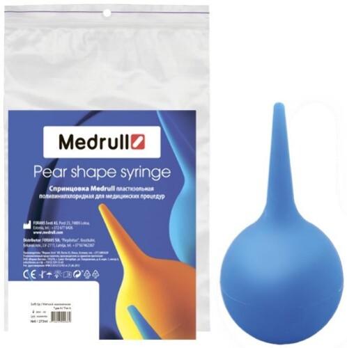 Спринцовка medrull пластизольная поливинилхлоридная с мягким наконечником а-9 270мл инд/уп