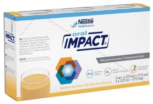 Купить Oral смесь для энтерального питания для детей старше 7лет и взрослых 237мл n3 цена