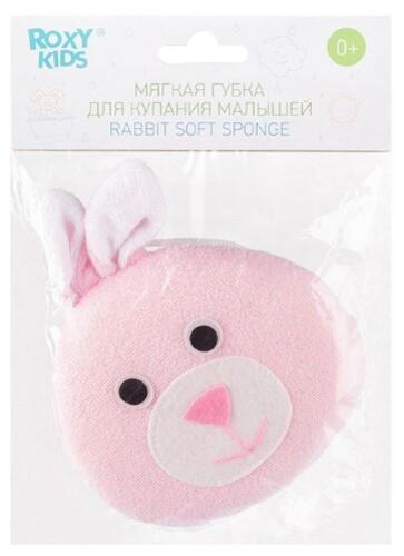 Купить Мягкая губка с махровым покрытием rabbit 0+ цена