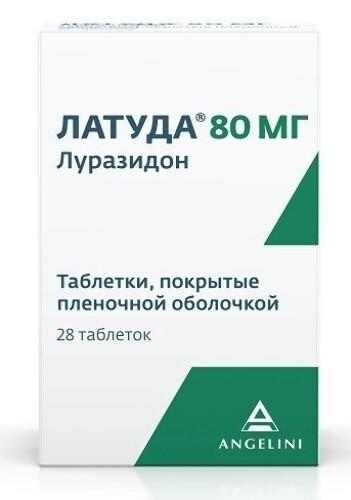 Купить ЛАТУДА 0,08 N28 ТАБЛ П/ПЛЕН/ОБОЛОЧ цена