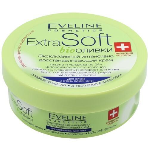 Купить Extra soft bio оливки эксклюзивный интенсивно восстанавливающий крем 200мл цена