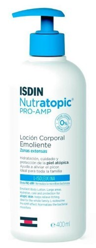 Купить Nutratopic лосьон для тела смягчающий для атопичной кожи 400мл цена