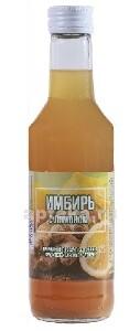 Купить Сироп имбирный с лимоном на фруктозе цена
