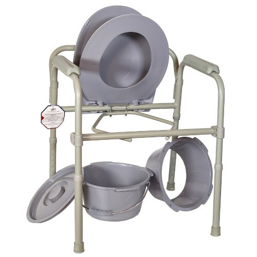 Купить Кресло-туалет складное регулируемое по высоте amcb6806 цена
