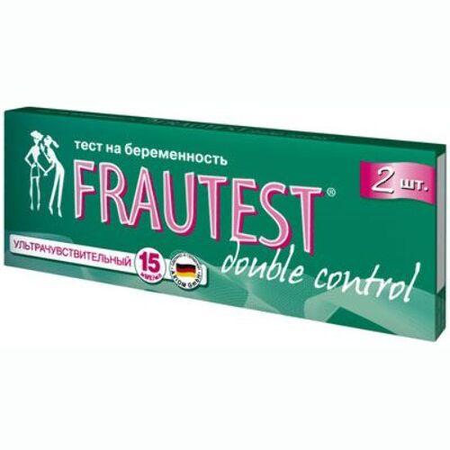 Купить Тест для определения беременности frautest double control n2 цена