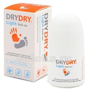 Купить Light средство от потоотделения для всех типов кожи 50мл цена