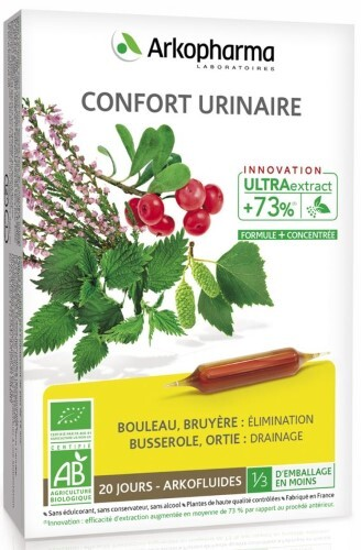 Купить ARKOPHARMA CONFORT URINAIRE 10МЛ N20 АМП ЖИДКОСТЬ цена