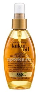 Купить Масло-спрей для увлажнения и гладкости волос с маслом гавайского ореха (кукуи) 118мл цена