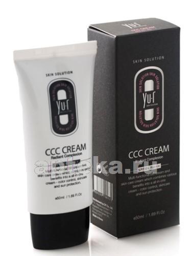 Купить YU-R CCC CREAM (LIGHT) КРЕМ ДЛЯ ЛИЦА SPF 50+/ТОН СВЕТЛЫЙ 50МЛ цена