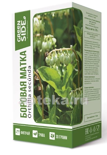 Купить Боровая матка (ортилия однобокая) трава фиточай цена