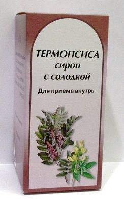 Купить ТЕРМОПСИСА СИРОП С СОЛОДКОЙ 100,0 ФЛАК СИРОП цена