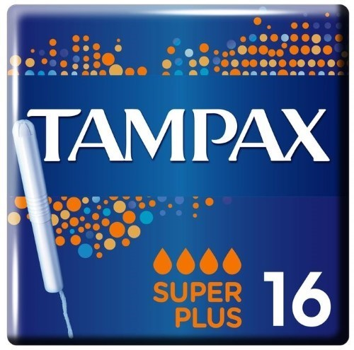 Купить TAMPAX ТАМПОНЫ SUPER PLUS С АППЛИКАТОРОМ N16 цена