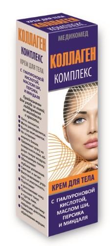 Купить КОЛЛАГЕН КОМПЛЕКС МЕДИКОМЕД КРЕМ ДЛЯ ТЕЛА 100МЛ цена