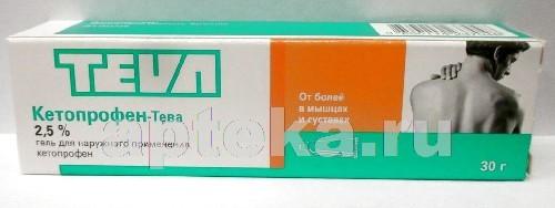 Купить Кетопрофен-тева цена