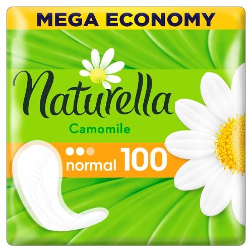 Купить NATURELLA CAMOMILE NORMAL ЕЖЕДНЕВНЫЕ ПРОКЛАДКИ N100 цена
